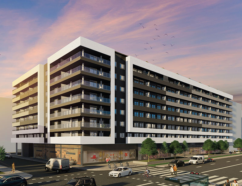 Vía Nova pisos obra nueva Smart Home