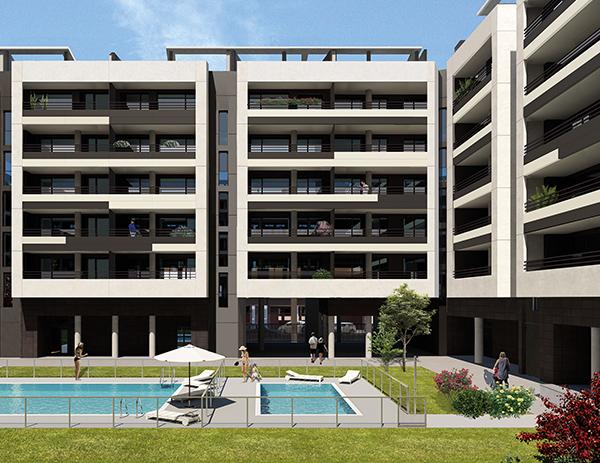 Residencial Vía Verde pisos obra nueva Smart Home